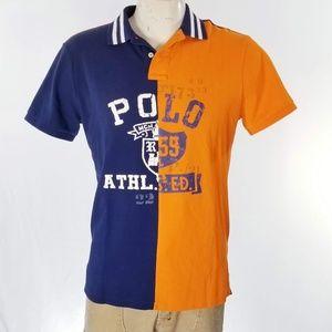 Polo Ralph Lauren Split Polo Shirt Slim